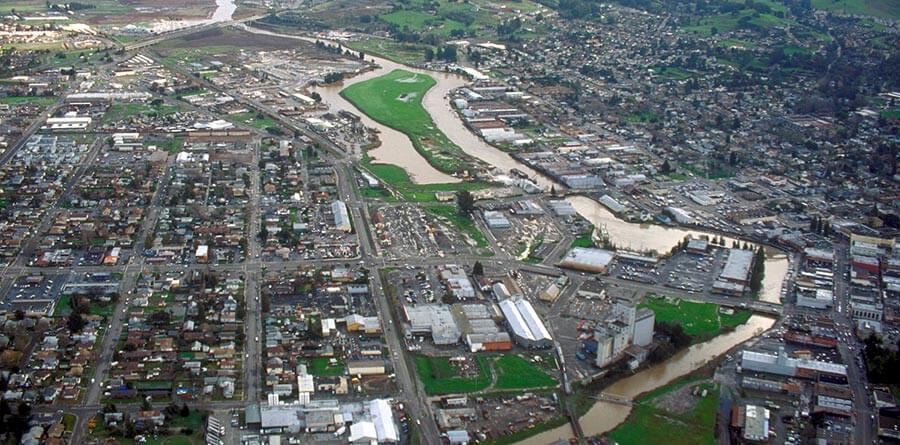 Many movies were shot in Petaluma including Howard the Duck, Cujo, Basic Instinct, and Scream. Photo: http://bit.ly/1SsSlEg