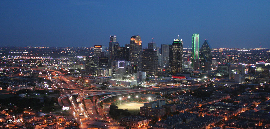 Dallas has one of the largest concentrations of corporate headquarters for publicly traded companies in the United States. Photo: http://bit.ly/1QMyKQe
