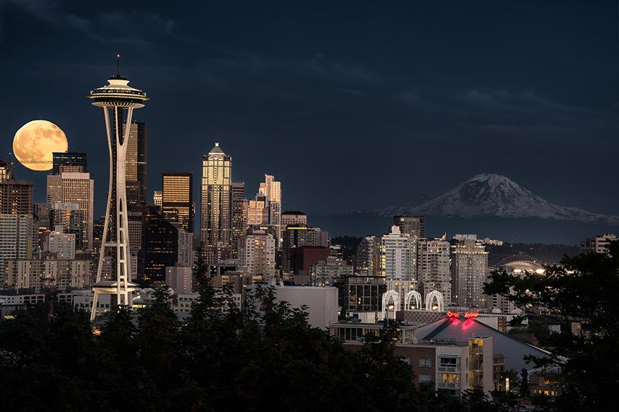 Low temperatures in Seattle are consistantly above freezing all winter long. Photo: http://bit.ly/1PZV9uP