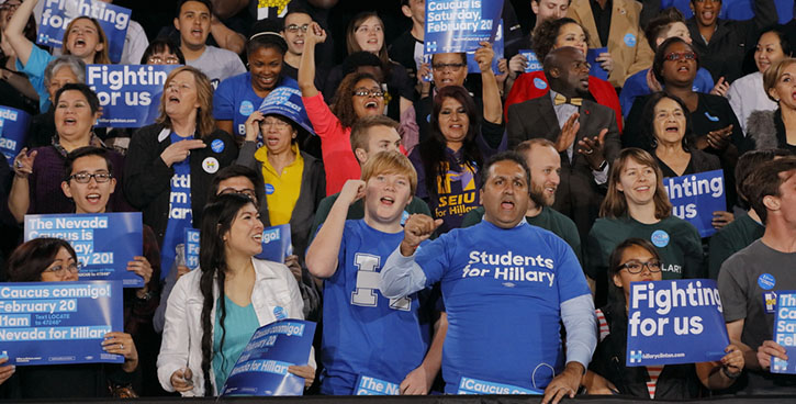 clintonsupporters-students
