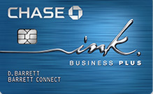 Chase ink plus business credit card review credit sesame the ink plus business credit card earns 5 points per 1 on the first 50000 spent in combined purchases at office supply stores and on cellular phone reheart Image collections
