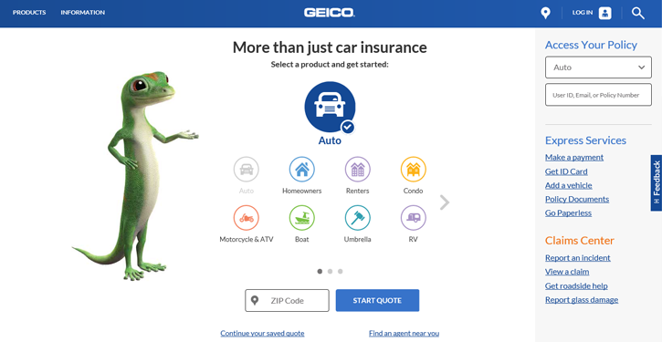 Geico Bundle Car And Home Insurance  : GEICO Insurance Review 2016 - Credit Sesame