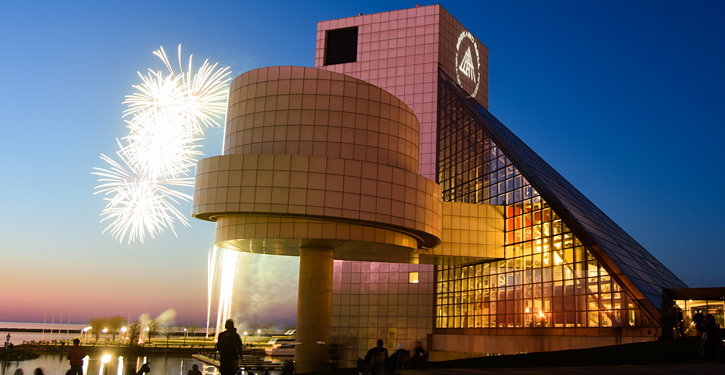 Rock and Roll Hall of Fame, Cleveland, OH | http://bit.ly/2bDINJN
