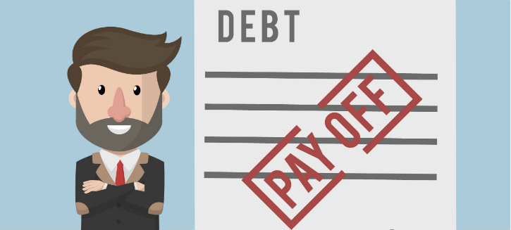 Principle of self liquidating debt consolidation