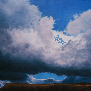 Image Credit | The Weight of Air © Katherine Kean oil on linen 48 x 48 inches