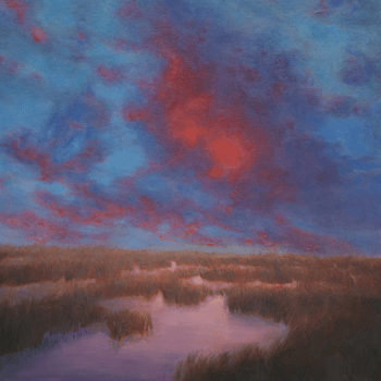Image Credit | Marsh Glow © Katherine Kean oil on linen 30 x 30 inches